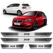 Soleira Anti-risco Peugeot 308 2014 a 2019