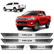 Soleira Anti-risco Toyota Hilux Sr Tdi Srv 2017 a 2019