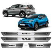 Soleira Anti-risco Toyota Rav4 2012 a 2019