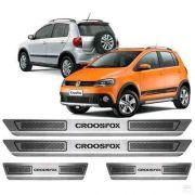 Soleira Anti-risco Volkswagen Crossfox 2013 a 2016