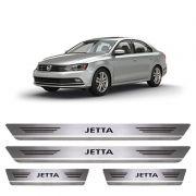 Soleira De Aço Inox  Escovado Volkswagen Jetta