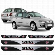 Soleira Resinada Personalizada para Fiat Stilo