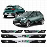 Soleira Resinada Personalizada para Hyundai HB20X