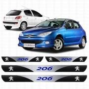 Soleira Resinada Personalizada para Peugeot 206