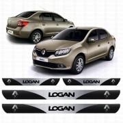 Soleira Resinada Personalizada para Renault Logan