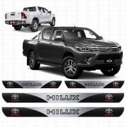 Soleira Resinada Personalizada para Toyota Hilux