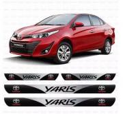 Soleira Resinada Personalizada Para Toyota Yaris