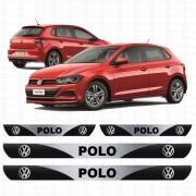 Soleira Resinada Personalizada para Volkswagen Novo Polo
