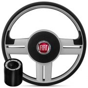 Volante Rallye ort Fiat + Cubo para Palio, Strada, Punto, Marea, Stilo, Brava e outros