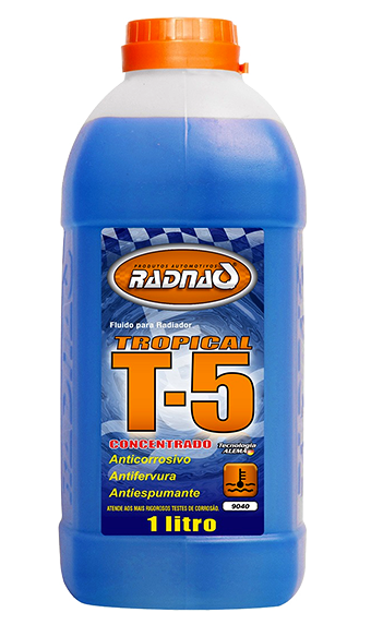 Aditivo Radiador T5 Tropical (Concentrado) 1L - RQ9040