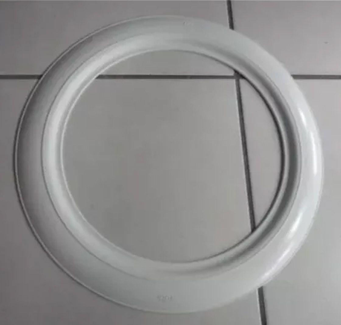 Banda Faixa Branca Tala larga 7cm aro 14, 15 e 16
