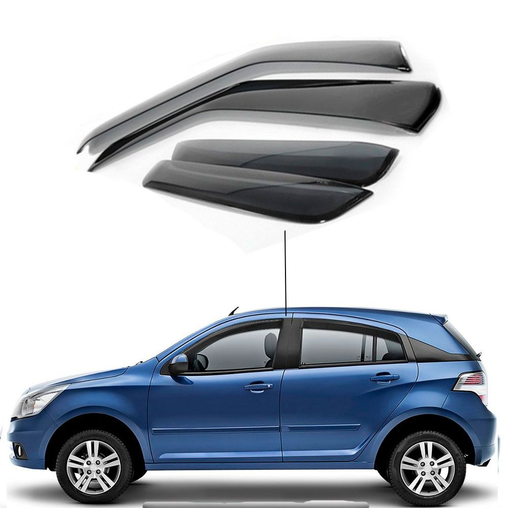 Calha de Chuva Chevrolet Agile