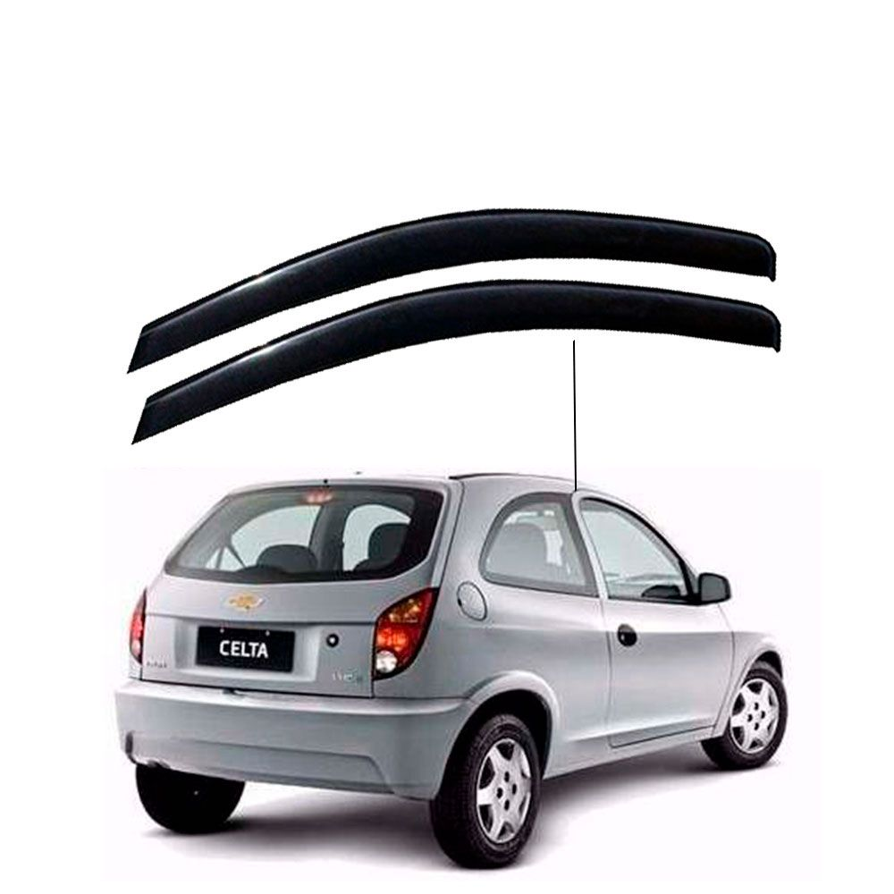 Calha de Chuva Chevrolet Gm Celta 2 portas