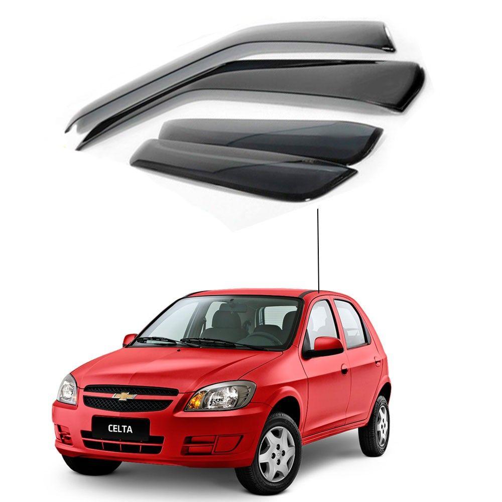 Calha de Chuva Chevrolet Gm Celta 4 portas