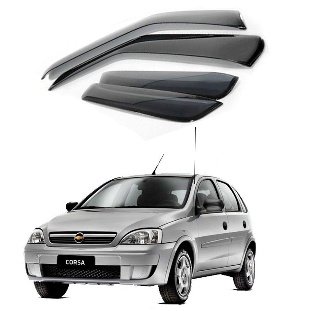 Calha de Chuva Chevrolet Gm Corsa Maxx 4 portas