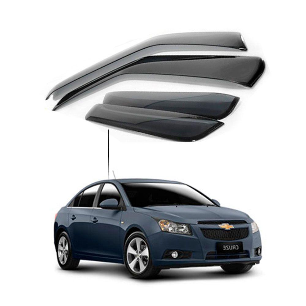 Calha de Chuva Chevrolet Gm Cruze sedan 2011 a 2016 4 portas