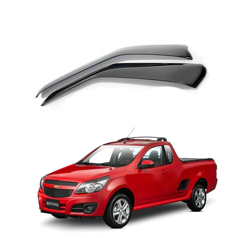 Calha de Chuva Chevrolet Gm Montana 2010 a 2015 2 portas