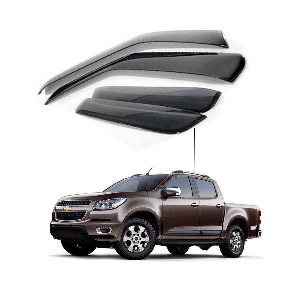 Calha de Chuva Chevrolet Gm S-10 2012 a 2015 4 portas