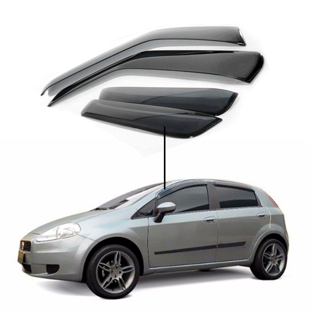 Calha de Chuva Fiat Punto 4 portas