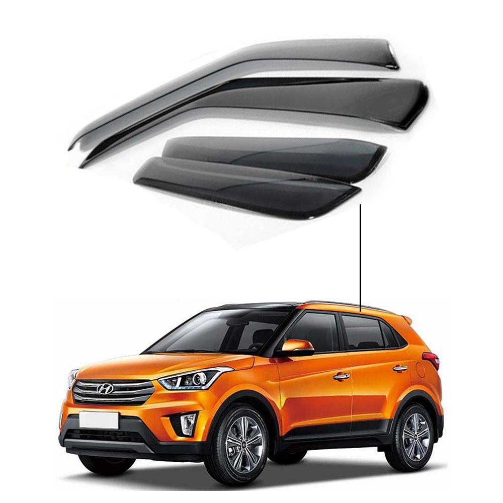 Calha de Chuva Hyundai Creta 4 portas