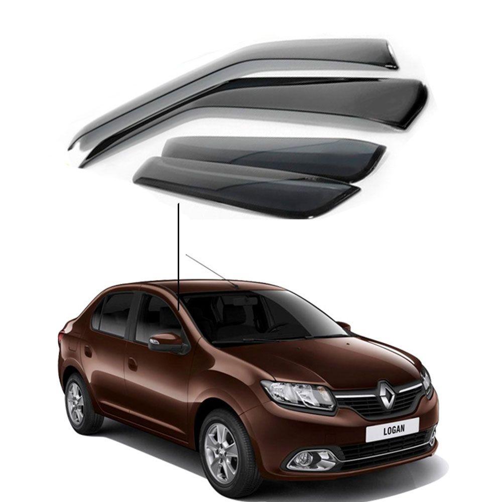 Calha de Chuva Renault Novo Logan 2014 a 2018 4 Portas
