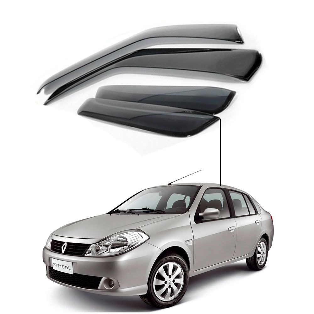 Calha de Chuva Renault  Symbol 4 Portas