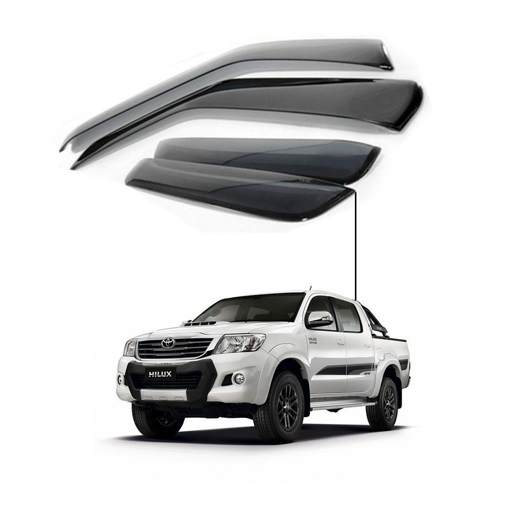 Calha de Chuva Toyota Hilux 2016 4 portas -