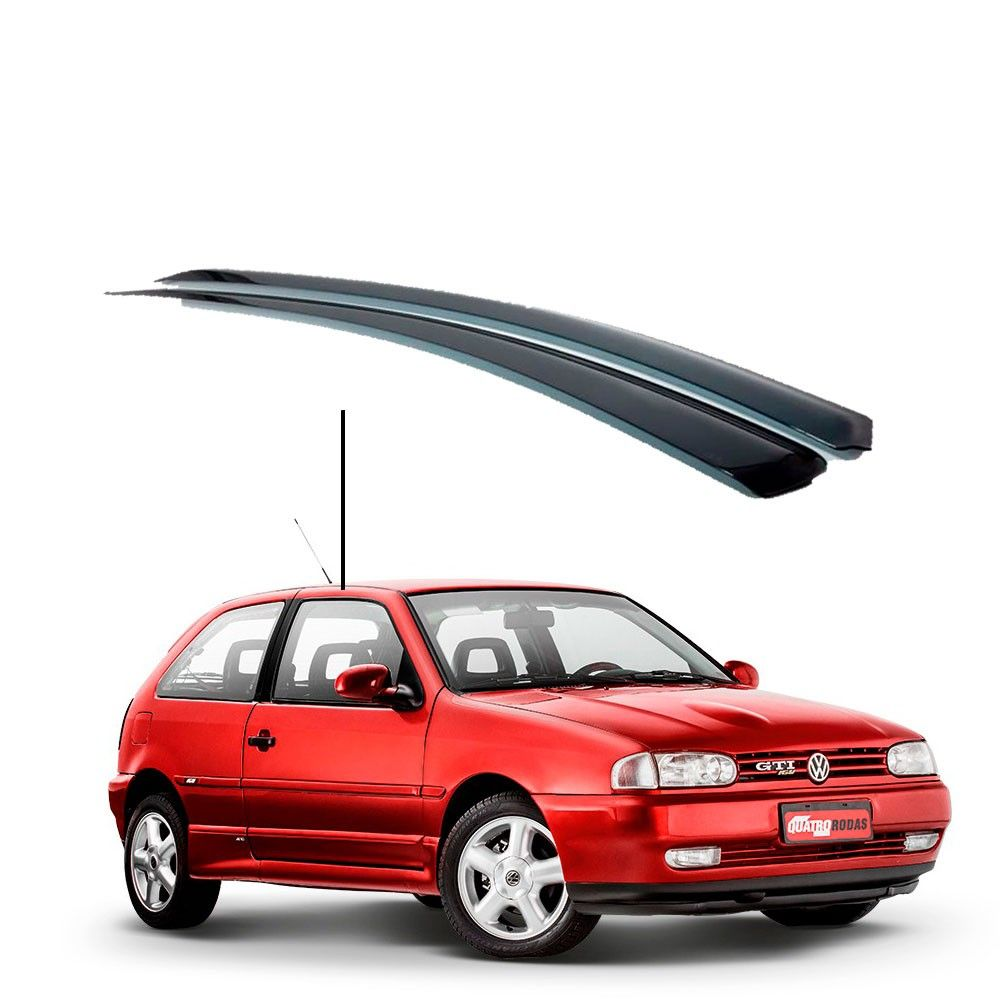 Calha de Chuva Volkswagen Gol 2 portas -