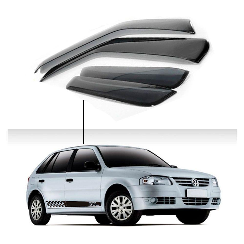 Calha de Chuva Volkswagen Gol 4 portas