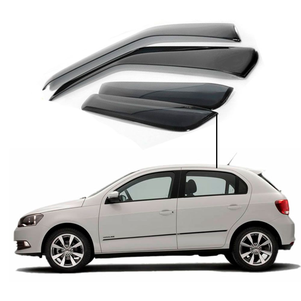 Calha de Chuva Volkswagen Gol G6 portas