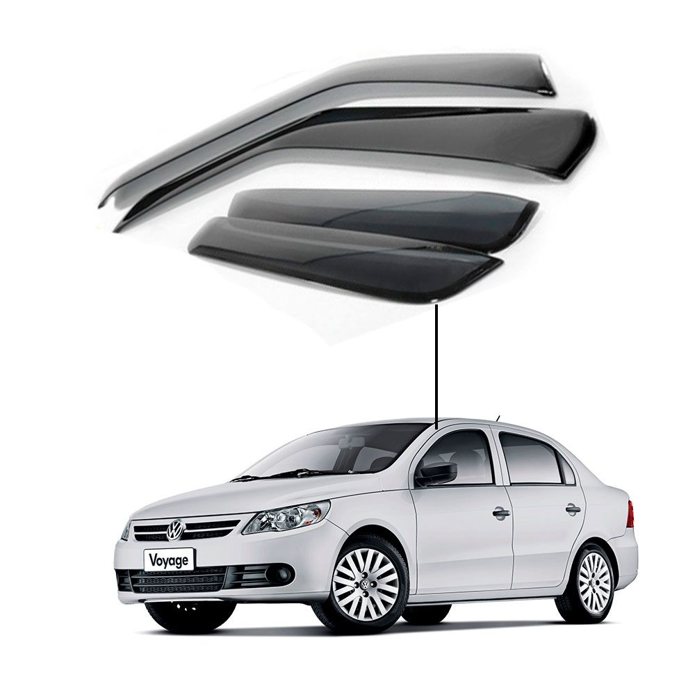 Calha de Chuva Volkswagen Voyage G5 portas -