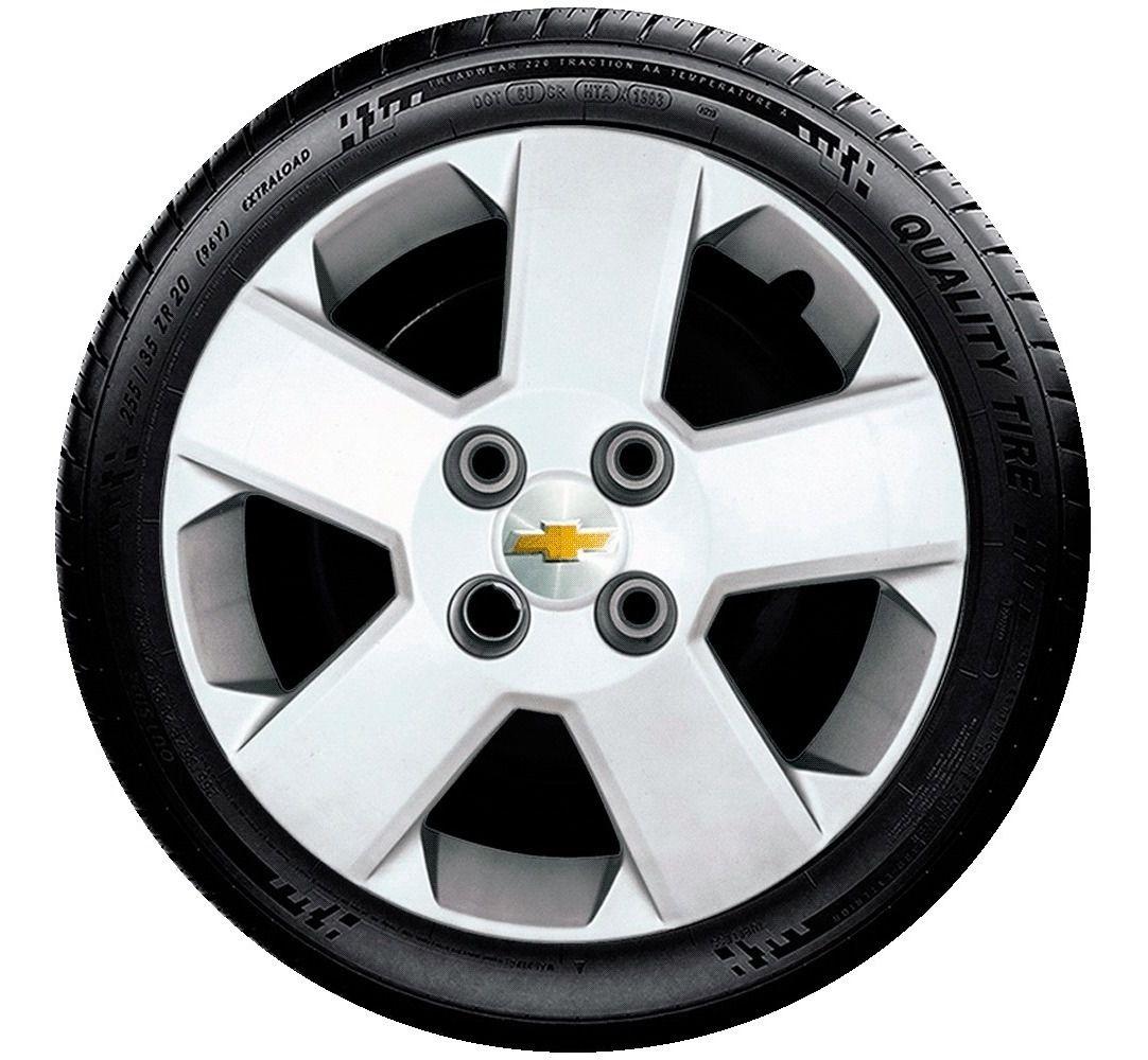 Calota 4pç Aro 14 Chevrolet Celta Prisma Corsa  G087j