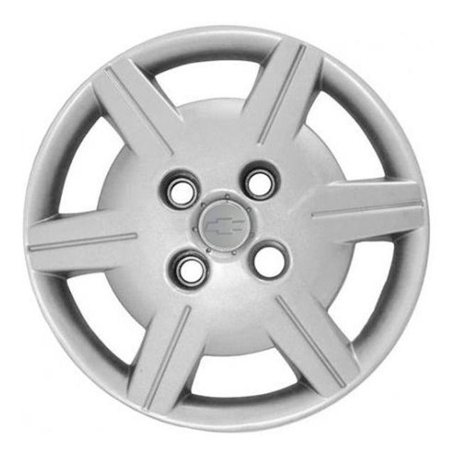 Calota 4pç Corsa Classic Emblema Alto Relevo Aro 13 Gm G069j