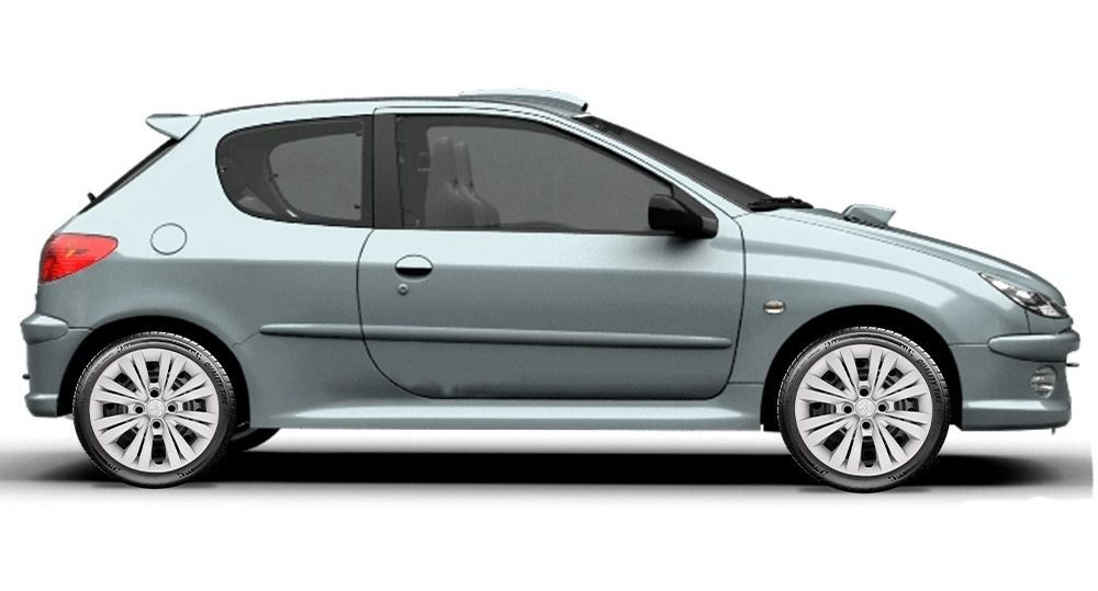 Calota 4pç De Parafuso Peugeot 207 208 307 308 Aro 15 G246j
