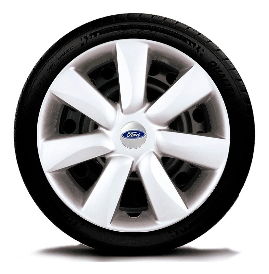 Jogo Calota 4pçs Aro 14 Ford Focus Fiesta G450j