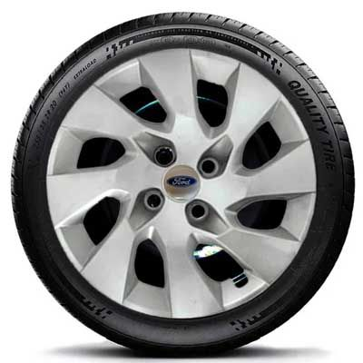 Calota aro 14 Fiesta Ford Ka Courrier Ford G133 prata