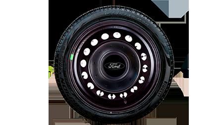 Jogo Calota Aro 14 Centro de Roda Amarok Ford Fiesta 2002 a 2012