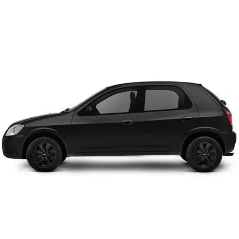 Calota Celta Corsa Aro 13 Black Piano Chevrolet E202