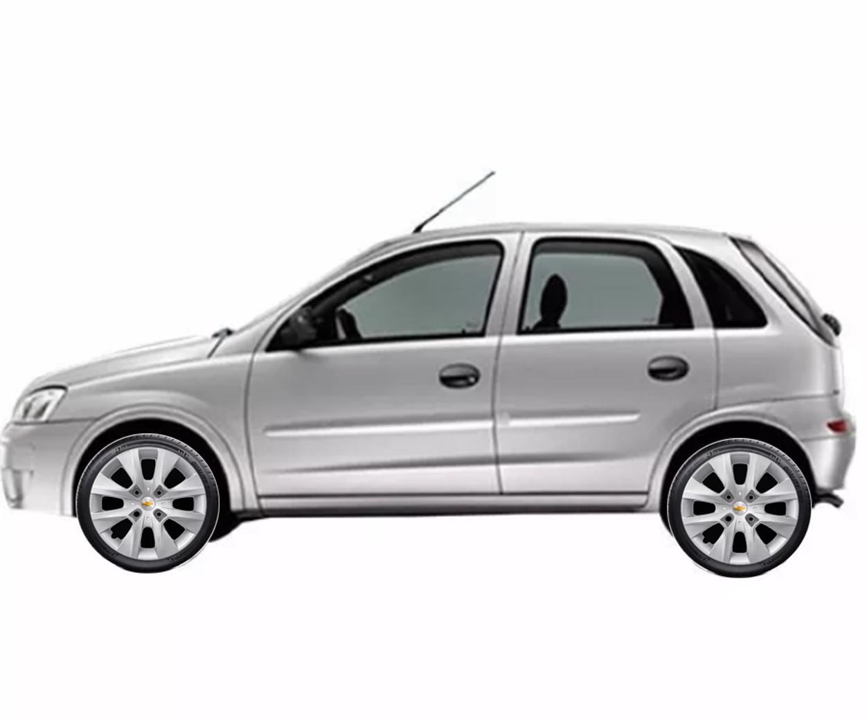 Calota Chevrolet GM Corsa Prisma Meriva Onix até 2016 Aro 14 G410
