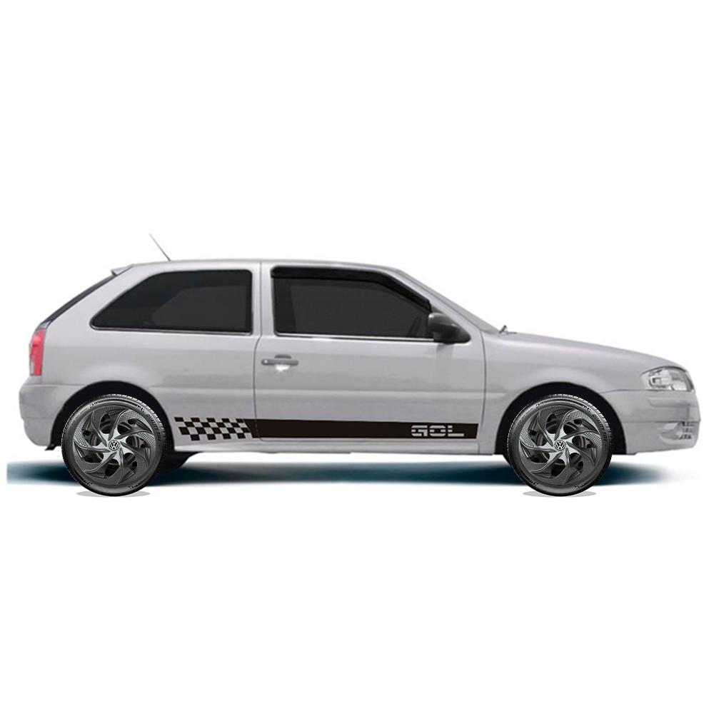 Calota Elitte para Celta Gol Palio Uno... Aro 14 Mod. Universal Prata Grafite linha Evolution  -  #E4201