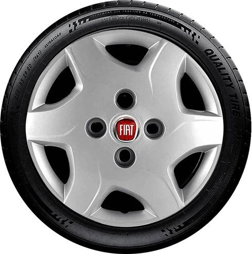 Calota Esportiva Aro 13 Fiat Palio Siena Uno G042u Cor: Prata