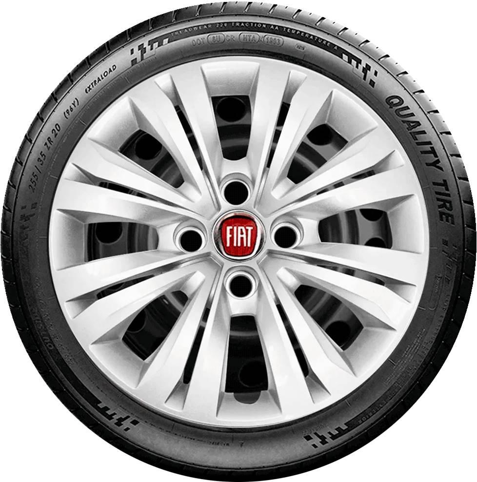 Calota Esportiva Aro 14 Fiat Palio Uno Punto Siena G245u