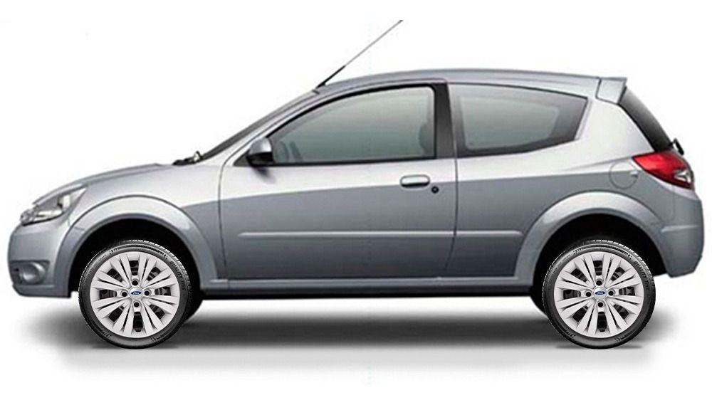 Calota Ford Focus New Ká Fiesta Aro 15 Jogo 4 Pçs G246j