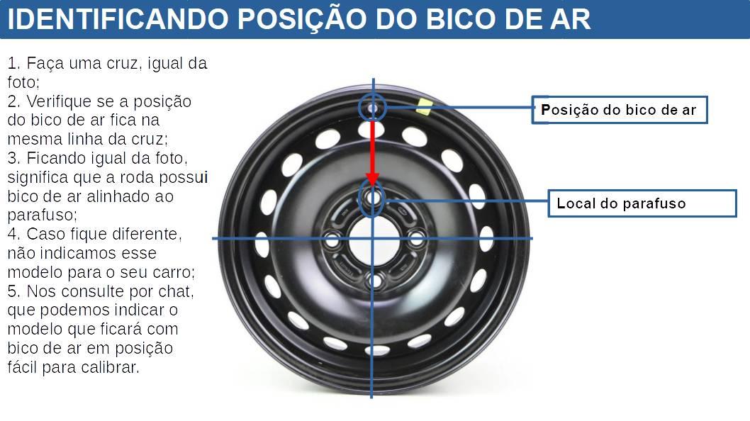 Calota Preto Fosco Aro 14 Ford Ka Fiesta G133pfu