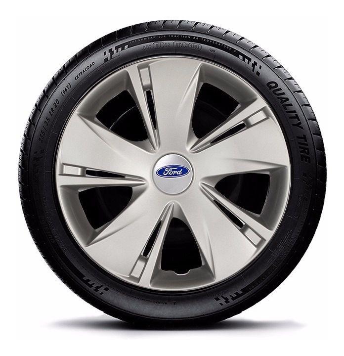 Calota Jogo 4 Pçs Ford Focus Fiesta Ká Aro 14 G451j