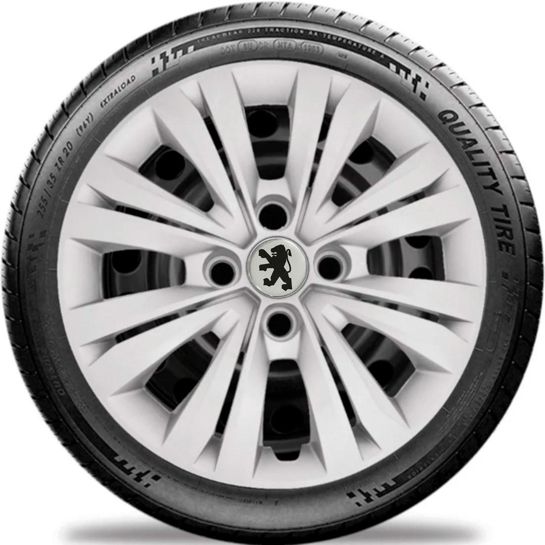 Calota Jogo 4pç Aro 14 Peugeot 206 207 G245j