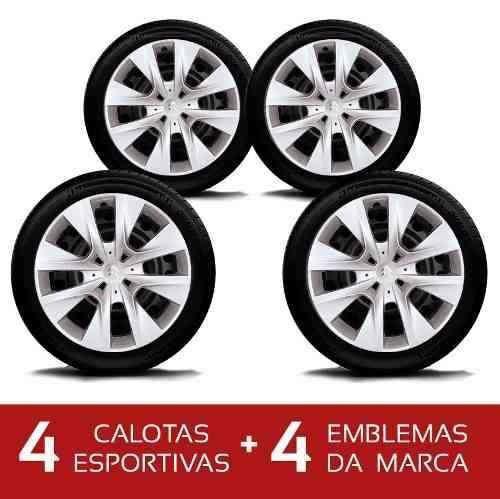 Calota Jogo 4pcs C3 Picasso Aro 14 Citroen G410j