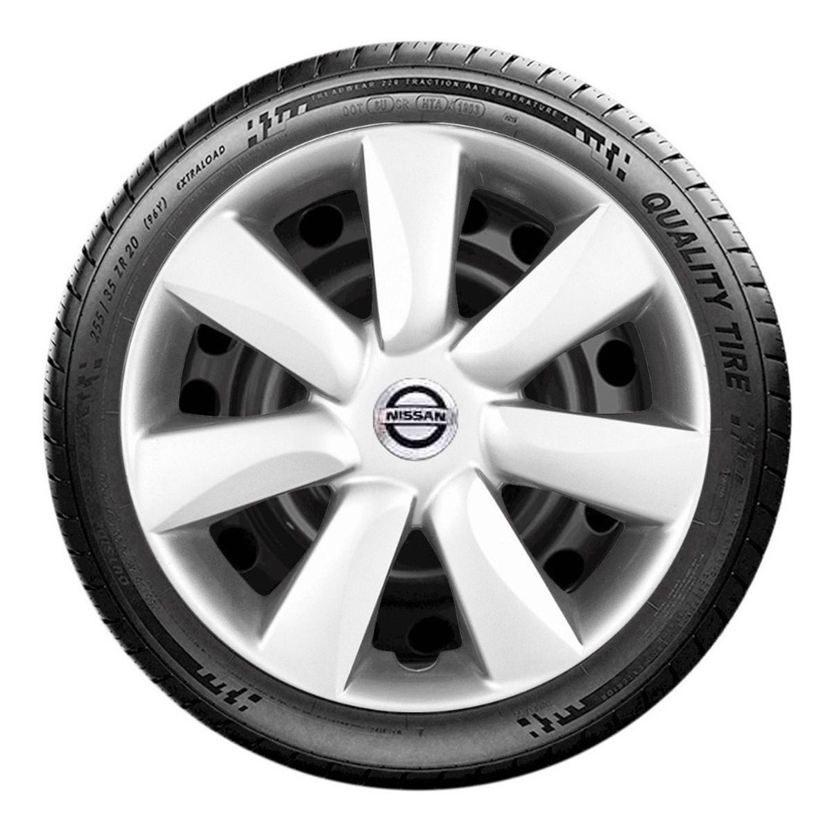 Calota Nissan March Aro 14 2015 a 2018 G450j