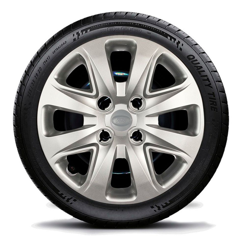 Calota Para Ford Ka 2014 2015 2016 Novo Aro 14 G340
