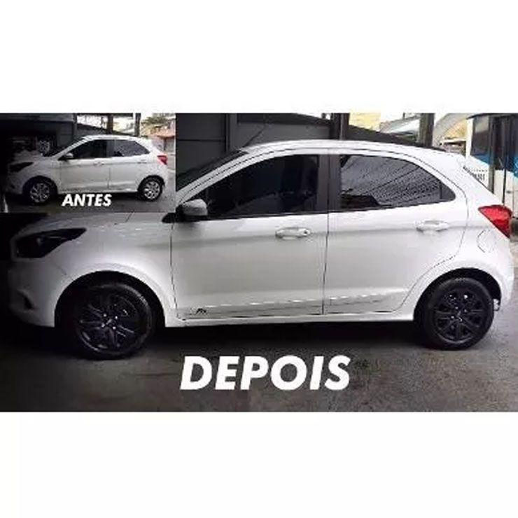 Calota Preta Fosca Ford Ka Aro 14 2016 2017 2018 2019 G340pf